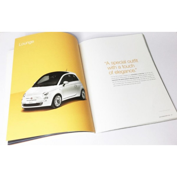 24 Page Thick Printed Brochures